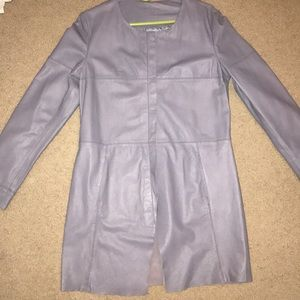 Wilson's leather trench coat leather jacket